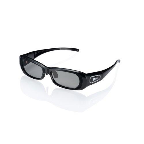 LG AG-S250 3D Active Shutter Glasses for 2011 LG 3D Plasma HDTVs