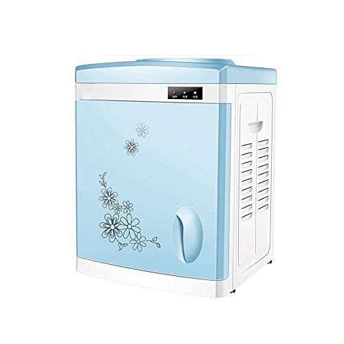Dispensador de agua eléctrico de calefacción de mesa para el hogar Multi-función encimera Mini botella de agua dispensador de agua para cocina oficina (tamaño : hielo caliente) con tamaño (caliente)