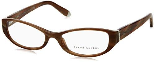 Ralph Lauren RL6108 Eyeglasses-5444 Brown Horn Vintage Effect-50mm