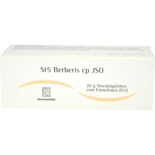 ST5 BERBERIS CP JSO 20g Globuli PZN:4943891