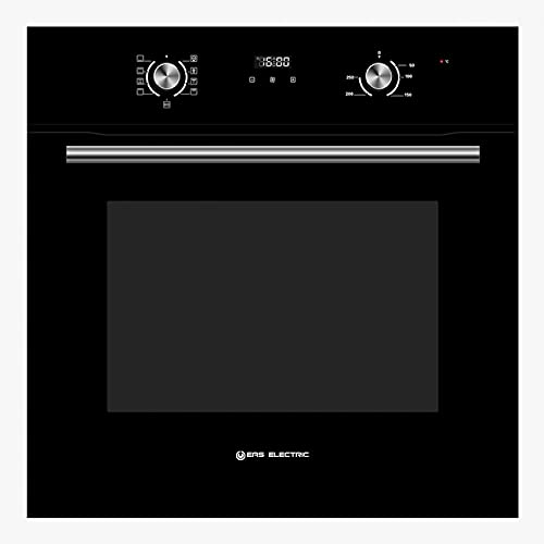 EAS ELECTRIC SMART TECHNOLOGY - Horno 8 funciones Cristal Negro - EMV70DGN