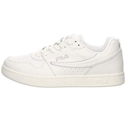 Fila Damen Arcade F low wmn Sneaker, Mehrfarbig (White/Silver 93n), 38 EU