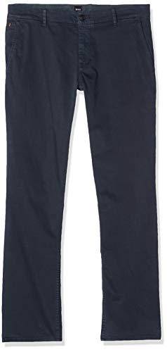 BOSS Herren Schino-Regular D Hose, Blau (Dark Blue 402), 34W / 32L