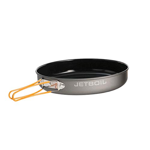 Jetboil 10-Inch Non Stick Camping Cookware Fry Pan for Jetboil Camping and Backpacking Stoves