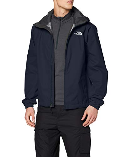 The North Face M Quest Jkt, Giacca Impermeabile Uomo, Blu (Urban Navy), L