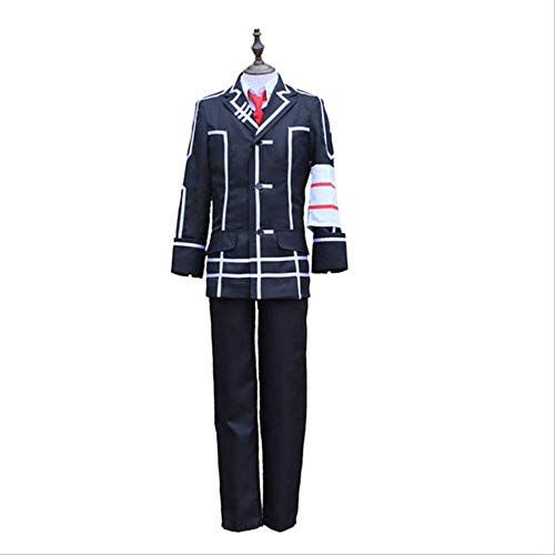 BELUNOT Animation Vampire Knight Black Main College Kiryu Zero Costume Black Men's Uniform Cosplay Costume L Picture Color