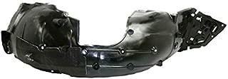 Partomotive For 16-19 Civic Coupe & Sedan Front Splash Shield Inner Fender Liner Right Side