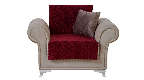 Chiara Rose Couch Covers for Dogs Sofa Cushion Slipcover 3 Seater Furniture Protectors Futon Cover, Sofa, Acacia Light Taupe