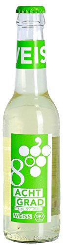 Acht Grad - Bio Weinschorle Weiß halbtrocken 5,9% Vol. - 0,275l