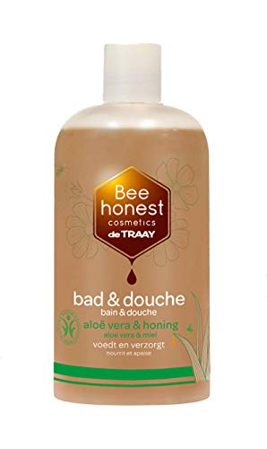 Traay Bee Honest Bad/Douche Aloe Vera/Honing, 500 ml