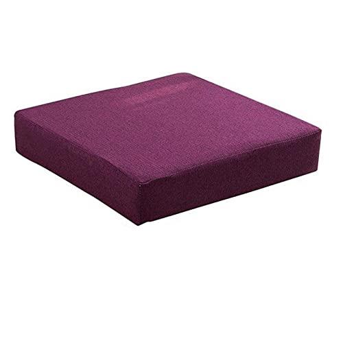 Chair Cushion Back Cushion Seat Cushions - Patio Chair Cushions Sofa Mat Wicker Chair Padding Back Cushion Foam Cushion Chair Cushions Garden Furniture Seating Comfortable Durable (Color : A)