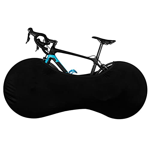 Custodia Bici Telo Copribici Copertura Biciclette da Esterno Antipolveri per Esterni Telo Copri Bicicletta Nero