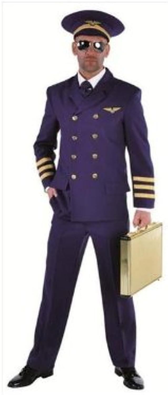 Edles Kostüm Pilot in blau Gr. XS = 46 B00APK7OBS Großer Verkauf  | Sehr gelobt und vom Publikum der Verbraucher geschätzt