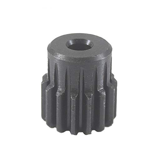 WJN-MOTOR, 1pc 1Module 17T Gears Wheel Metal 45Steel Rc Pinion Gears Pulley 4/5/6/6.35/7/8/10mm Inner Bore Mould 1 17Tooth Spur Gear Pinion (Color : 10mm, Size : 17 Teeth)