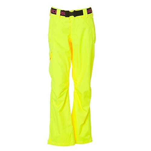 Grundens Women's Weather Watch Fishing Pants   Waterproof, Breathable, Hi Vis Yellow, Medium