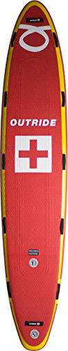 Outride Air Sup Rescue Tablero de apoyo para el rescate el patrullaje en todas las condiciones, Red