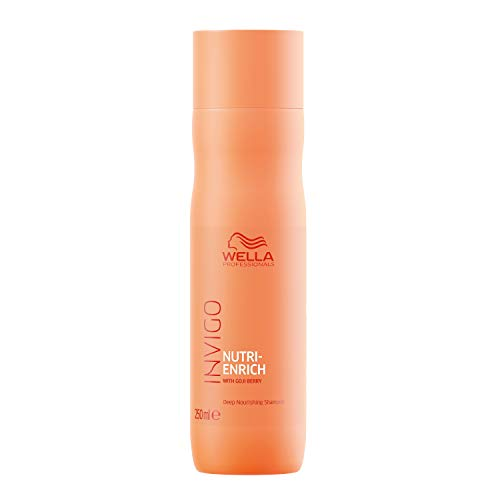 Wella Professionals Invigo Nutri Enrich Deep Nourishing Shampoo (For Dry and Damaged Hair), 250 ml