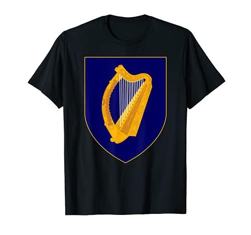 アイルランド 中世の紋章 紋章 Tシャツ