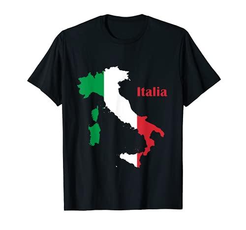 Land - Italien | Italienische Flagge T-Shirt