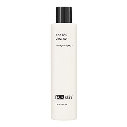 PCA SKIN BPO 5% Cleanser - Clarifying Daily Face Wash for Oily / Acne-Prone Skin (7 oz)