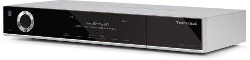 Technisat DigiCorder ISIO C digitaler HDTV TWIN-Kabelreceiver (500GB-Festplatte, Internet, DVR, CI+, UPnP, Ethernet) silber (nicht geeignet für den Empfang von Satelliten-Fernsehen)