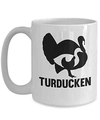 Turducken Coffee Mug Turkey Duck Chicken Gift