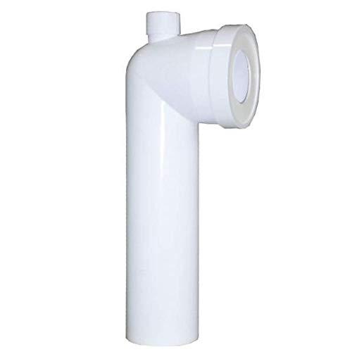 Régiplast - Coude WC 90° Mâle D.100 avec piquage Dessus