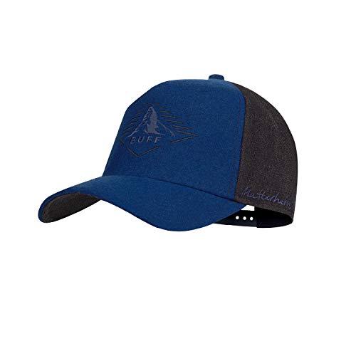 Buff Unisex-Adult 123534.707.10.00 Snapback Cap Matterhorn Blue, Einheitsgröße