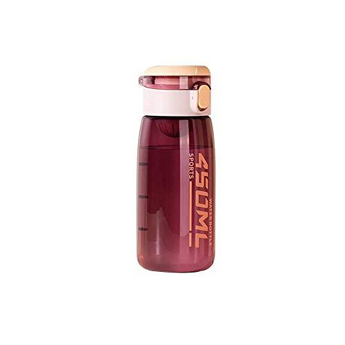 GONGYBZ Taza de Agua para Estudiantes 500 ml / 450 ml Taza de Deportes al Aire Libre Moda portátil Taza de Agua de Vientre Grande personalización