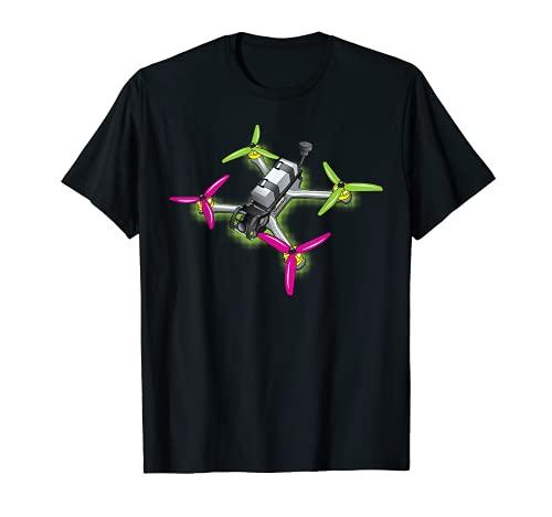 Freestyle FPV Racing Drone Pilot Acro Quadcopter Sandía Camiseta
