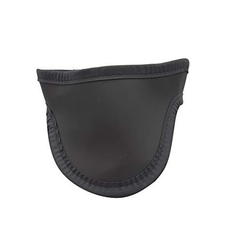 Ladies Thyroid Shield Light Weight Protección contra la radiación 0.5mm Pb Equivalencia de plomo (negro)