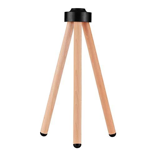 Muslady Speaker Stand Smart Speaker Bodenständer Massivholz-Lautsprecherständer Smart Speaker Zubehör Ersatz für IOS HomePod