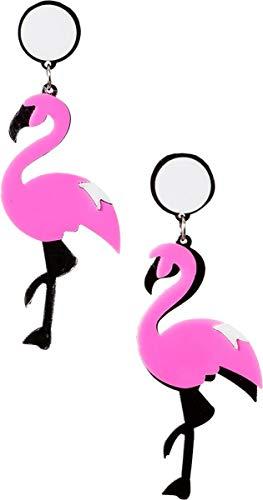 Orlob Flamingoohrringe in Pink