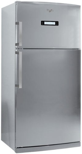 Whirlpool WTH5244 NFX Frigo-congelatore (Libera installazione, 515 L, T, 44 dB, 6 kg/24h, A+), Acciaio inossidabile