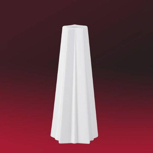 Hutschenreuther - Geschenkserie Stern Leuchter - Kerzenständer - Weiß Höhe 20 cm