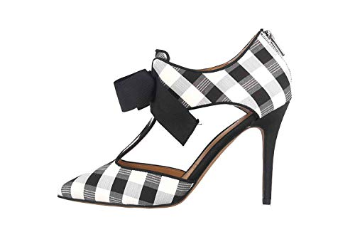 J.Reneé Zapatos de tacón alto en tallas grandes, multicolor Glaiza blanco y negro, color Multicolor, talla 43 EU