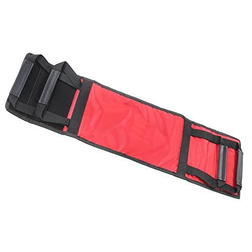 Wosune Cinturón de Transferencia de Ayuda para el Paciente, Tela Oxford 100 kg Cinturón de Ayuda para el Movimiento de Ancianos con fácil manejo Doble para Pacientes con hemiplejia por accidente