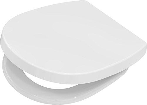 WC-Sitz Toilettendeckel ISCON für Ideal Standard Connect Keramik von TOTO Pagette 795730202 weiß