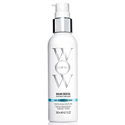 COLOR WOW Dream Cocktail - Coconut Infused Leave-In Treatment for Dry Hair, 6.7 Fl Oz