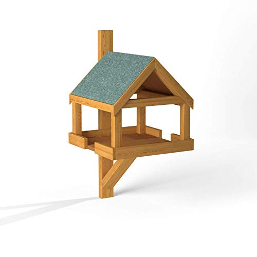Hove Fence Wall Mounted Bird Table | Space Saving Wall Mounted Bird Feeder