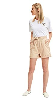 DeFacto Cotton Drawstring Waist Shorts for Women