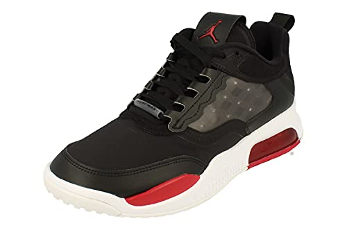 Nike Air Jordan Max 200 Uomini Formatori Cd6105 Scarpe Da Ginnastica Scarpe, Nero (Nero Palestra Rosso Bianco 006), 41 EU