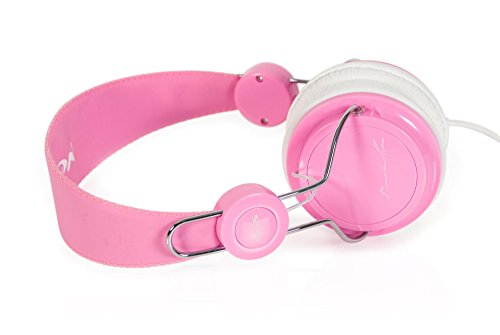 NGS Marshmallow Casque Audio Rose /Noir