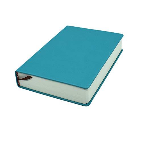 Cuaderno en blanco A5 de cuero con tapa dura, 660 páginas, 80 g/m² para bocetos, cuaderno de papel liso
