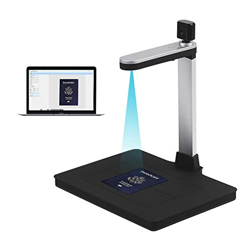 Purchase HD Document Dual-Camera AI Technology Fill-in Light Scanner 10 Mege-Pixels Support PDF Expo...