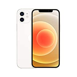New Apple iPhone 12 (64GB) - White 6.1-inch Super Retina XDR display Ceramic Shield, tougher than any smartphone glass A14 Bionic chip, the fastest chip ever in a smartphone Advanced dual-camera system with 12MP Ultra Wide and Wide cameras; Night mod...