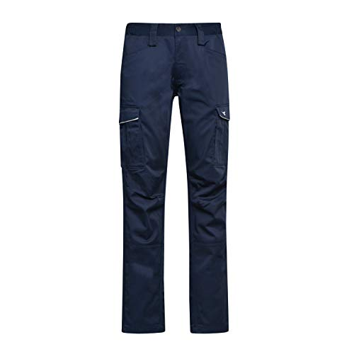 Utility Diadora - Pantalone da Lavoro Pant Staff Stretch Cargo per Uomo (EU L)