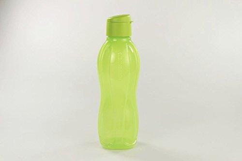 TUPPERWARE Eco 1,0 L To Go Trinkflasche Öko gelb-grün 10026