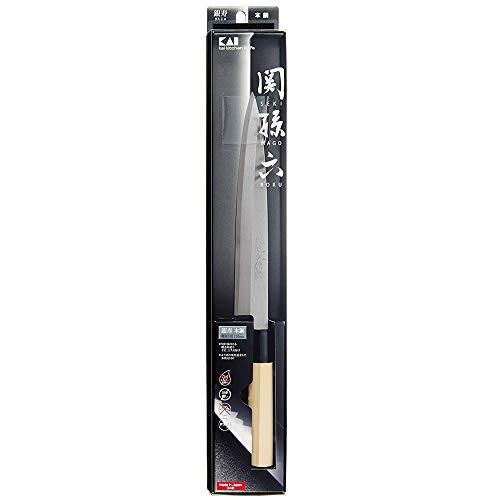 貝印関孫六銀寿本鋼和包丁刺身(左用)210mmAK-5208