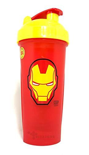 Performa Shaker Marvel Hero Series Shaker Iron Man Rouge/Jaune 800 ml
